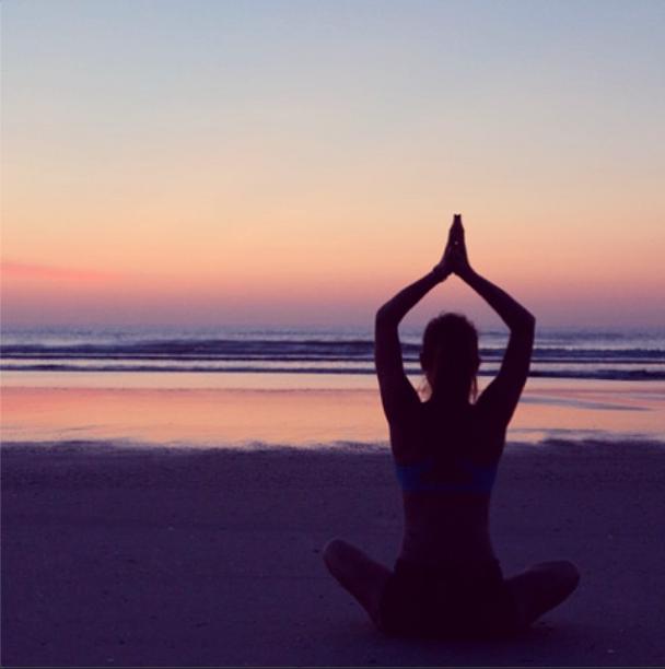 Weekend yoga retreat in California