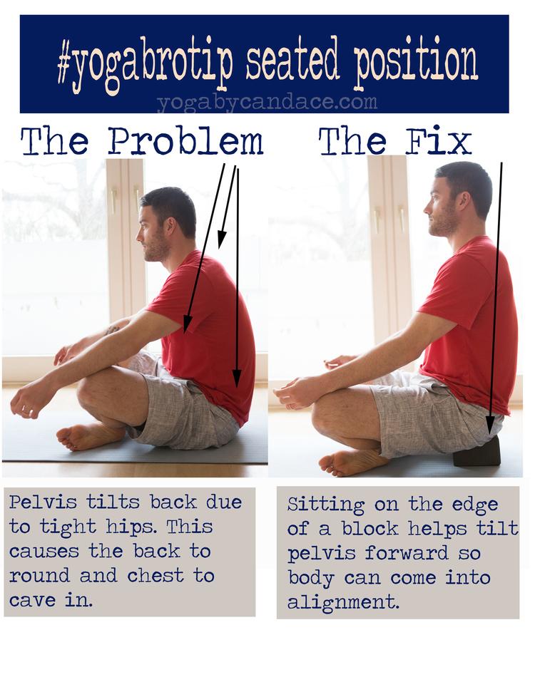 Yoga tip for men