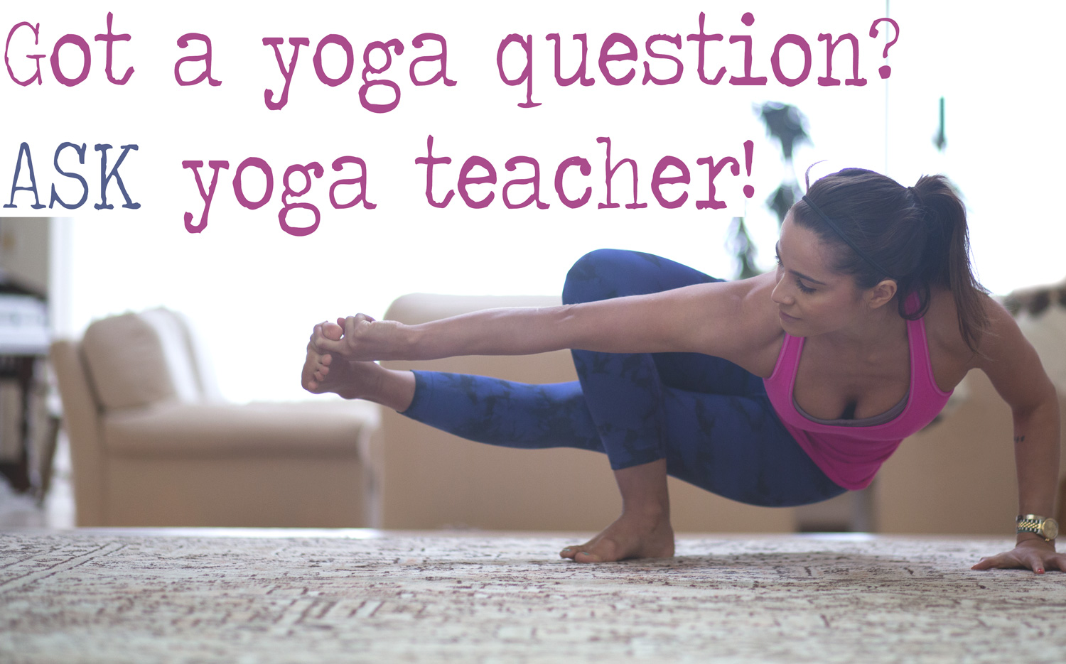 Got a yoga question?  Submit it here!   Wearing: Lululemon cool racer tank ( review ),  NUXUSA pants  c/o