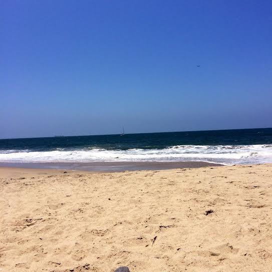Beach time in Marina del rey
