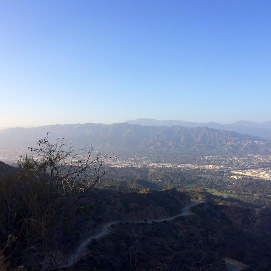 View from our hike