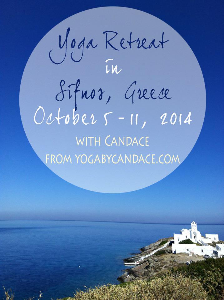 A yoga retreat in Sifnos, Greece
