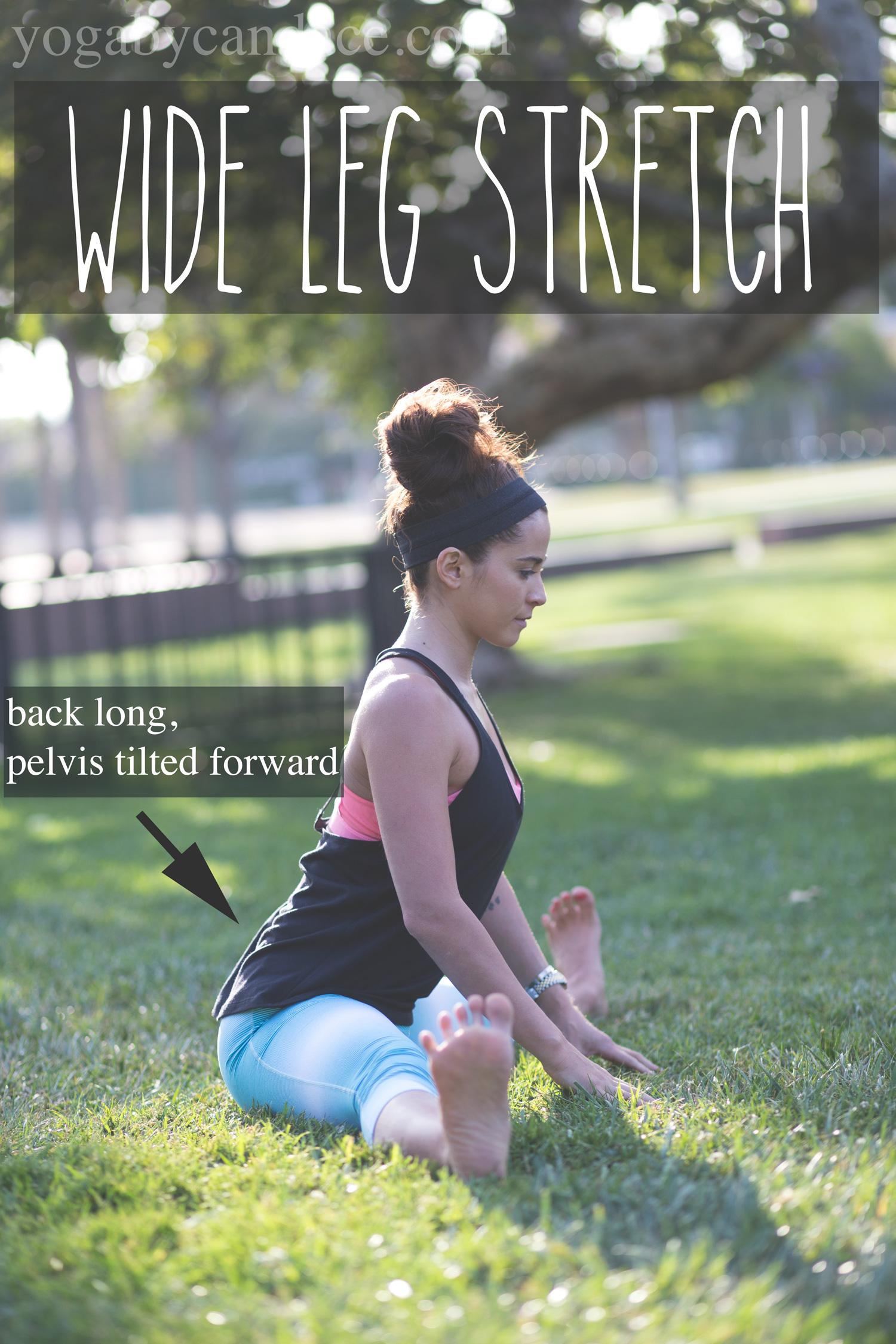 Wide leg stretch