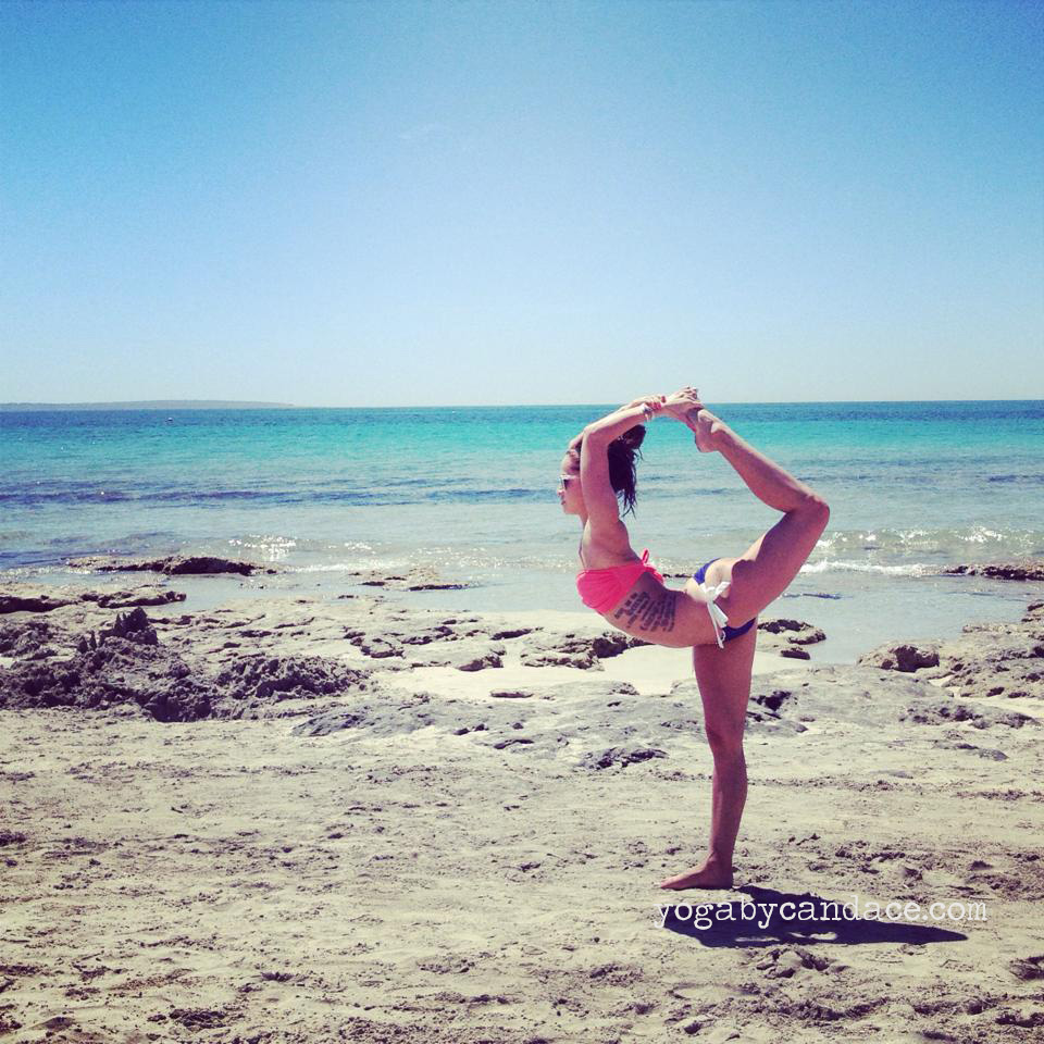 At our  yoga retreat in Ibiza  (join our  next one in Greece !)
