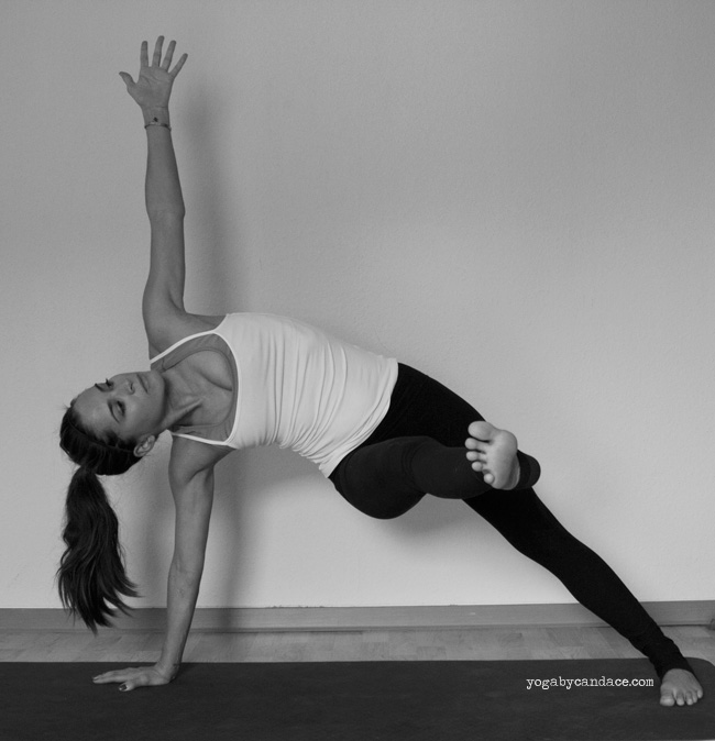 Pin it! Side plank variation