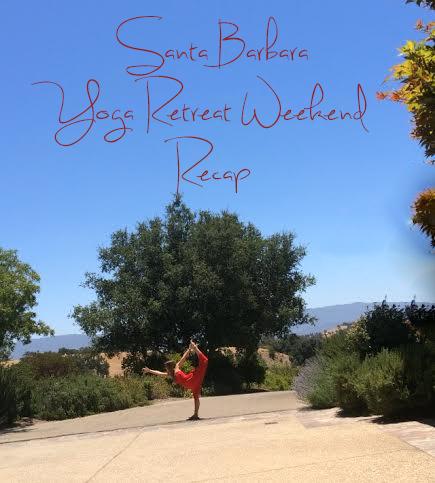 Weekend yoga retreat in Santa Barbara  Wearing: strapless dress ( similar )