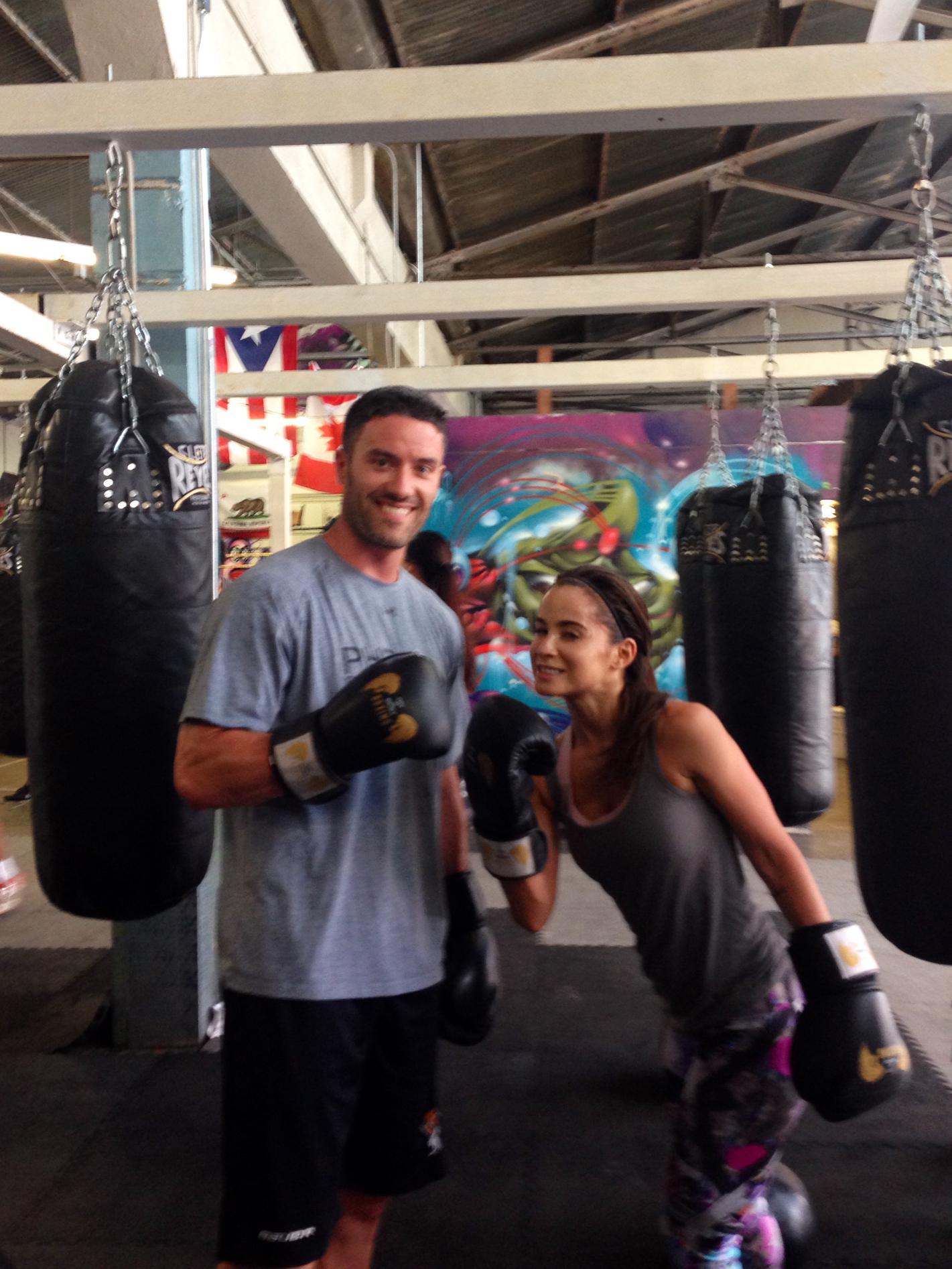 Boxing in LA