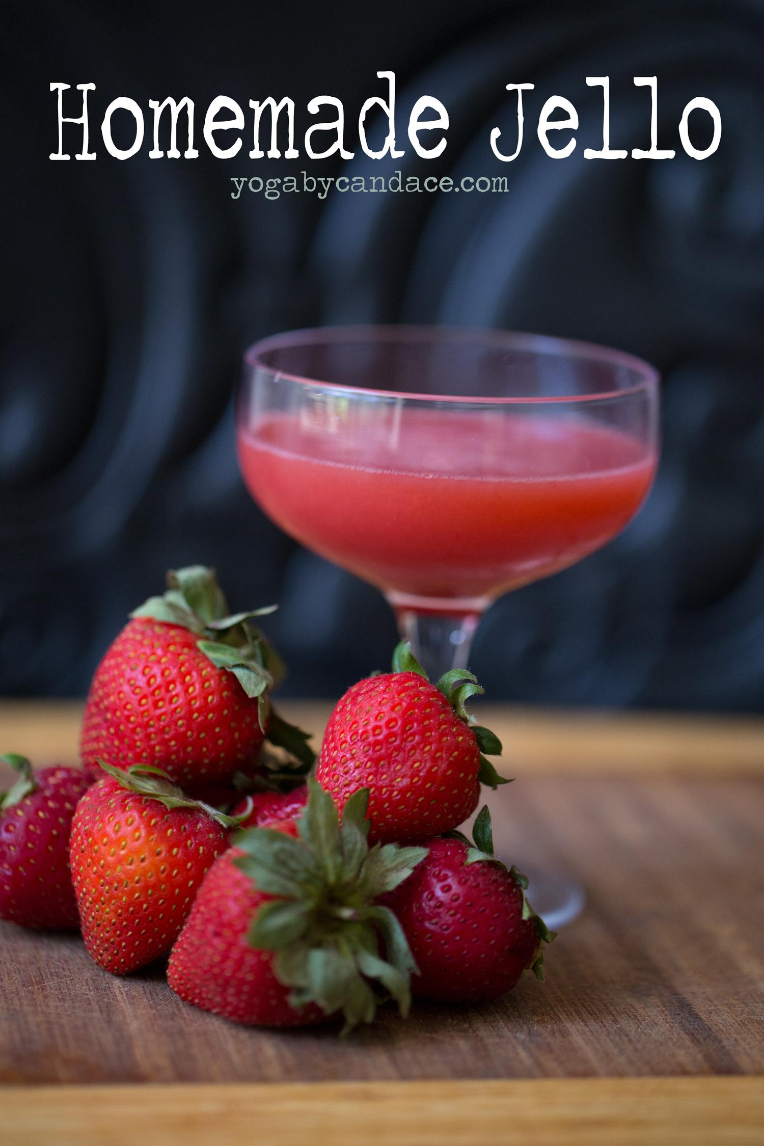 Pin it! Strawberry jello recipe.