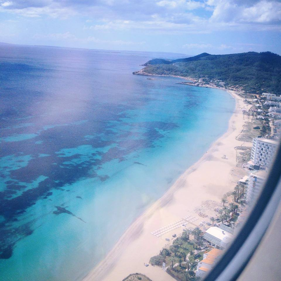Ibiza from above. Pin it!