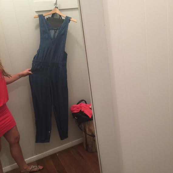 Long live the 90s  overalls   Wearing: soft joie dress ( on sale in similar style )