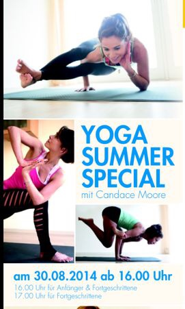 Summer pop up classes at Injoy in Wolfsburg, Germany
