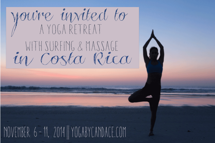 Join us! A week of Yoga and Adventure in Costa Rica