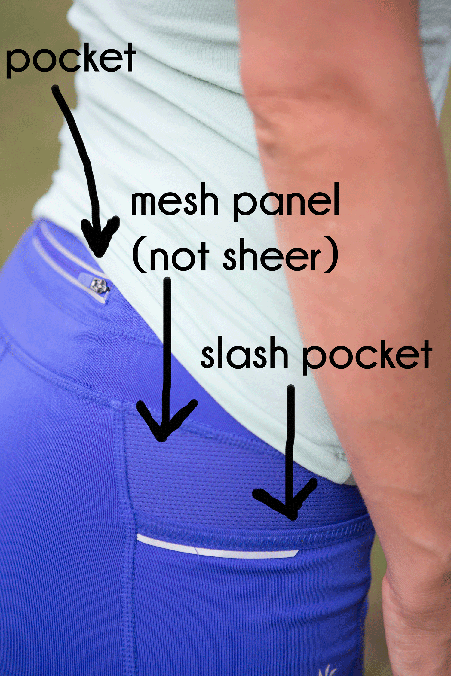 Details of Athleta Be Free leggings