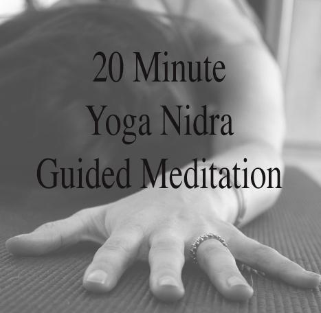 Pin it@ 20 min yoga nidra guided meditation