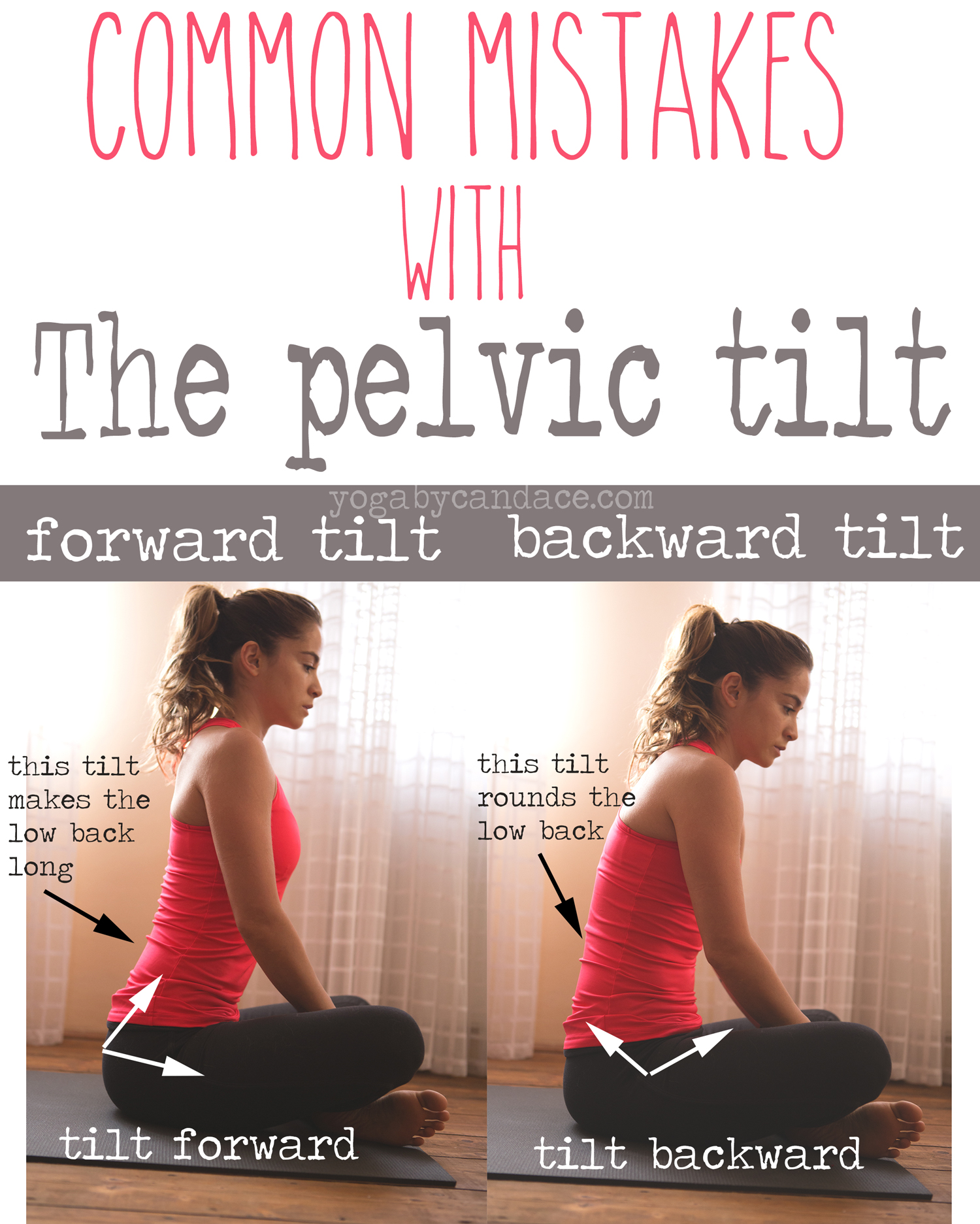 Pin it! Watch the tilt of your pelvis in seated positions  Wearing:  FP pants ,  Sweaty Betty top