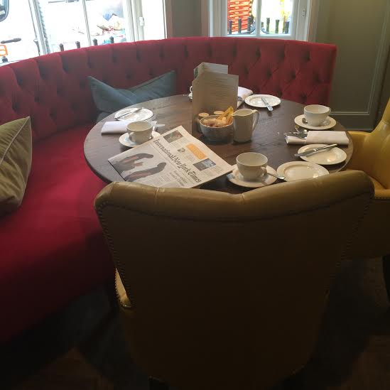 Breakfast for one at  Pantry at 108