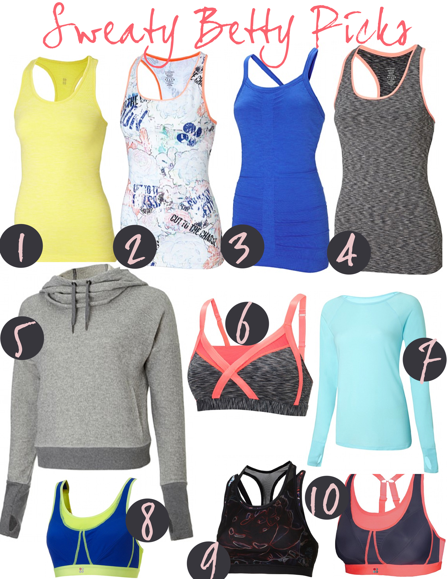 Sweaty Betty picks