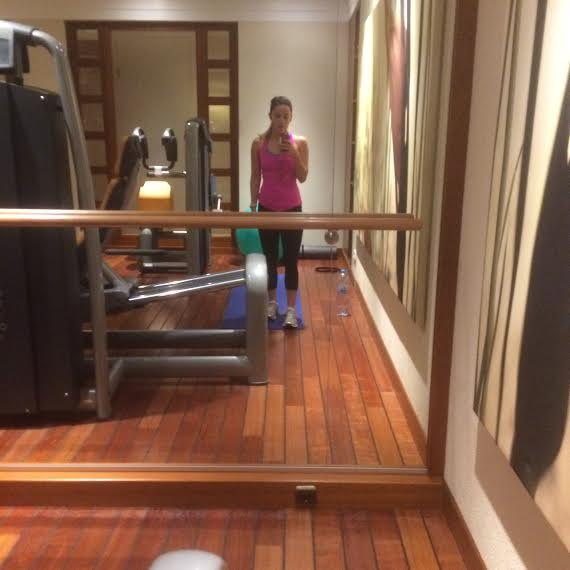 Fitness facility at Hotel Adlon Kempinski