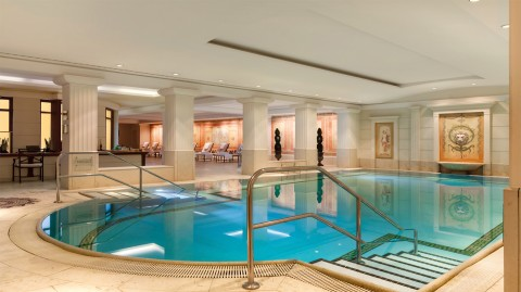 Indoor pool at Hotel Adlon Kempinski