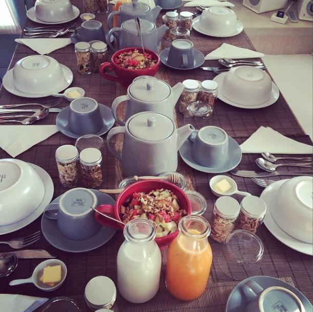 Breakfast at  Verina Astra