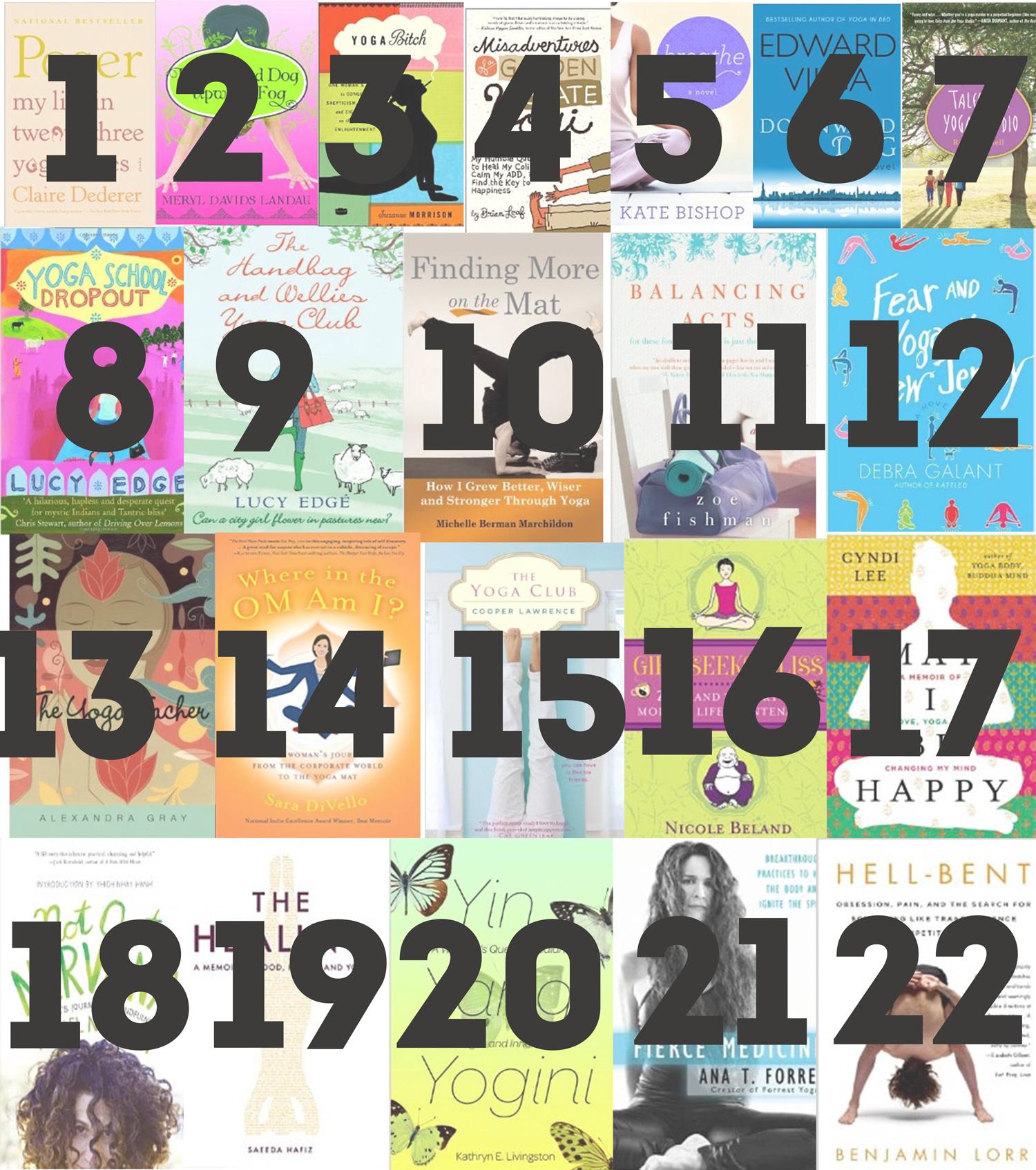 Pin it! 22 Yoga-based novels & memoirs