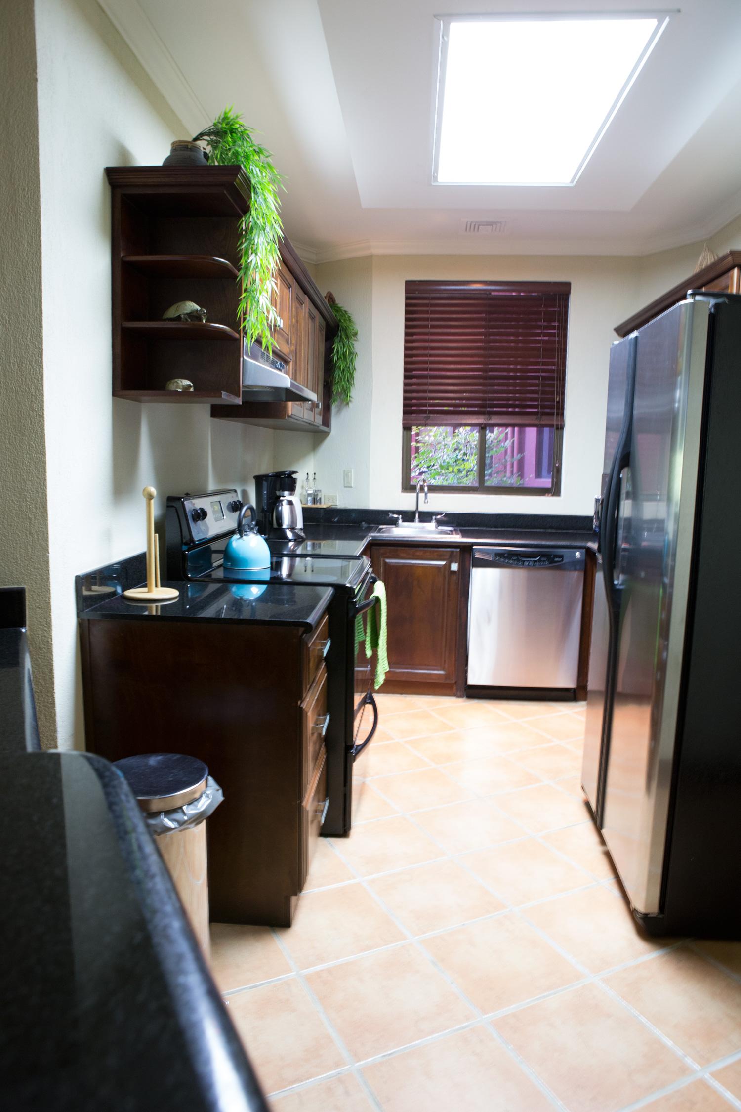 Kitchen at Reserva Conchal, Costa Rica