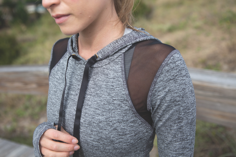 Wearing: Alala mesh insert top  c/o