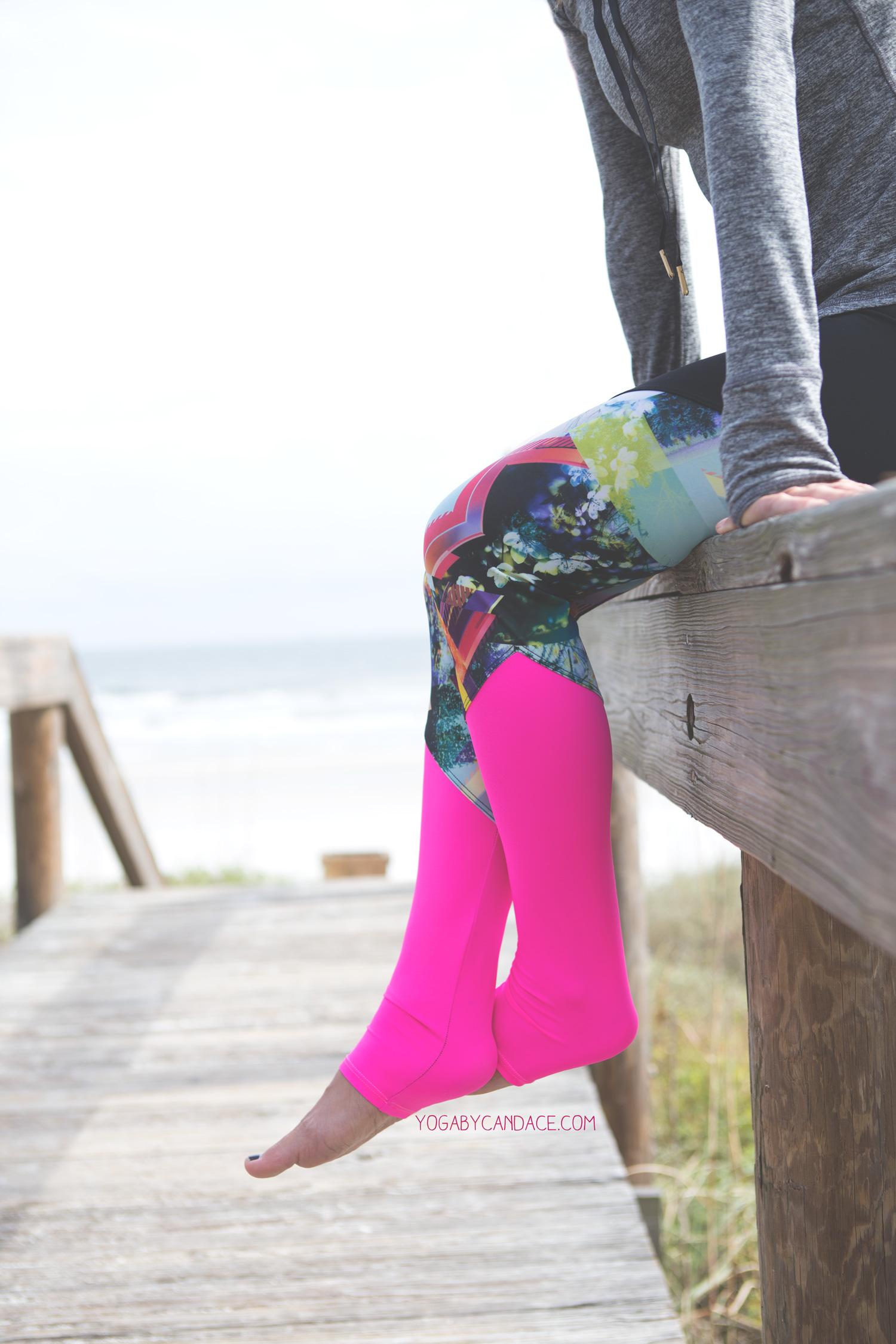 Wearing:  Onzie pants c/o