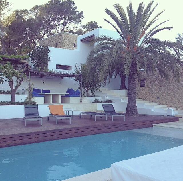 Our house for the Ibiza Yoga Retreat