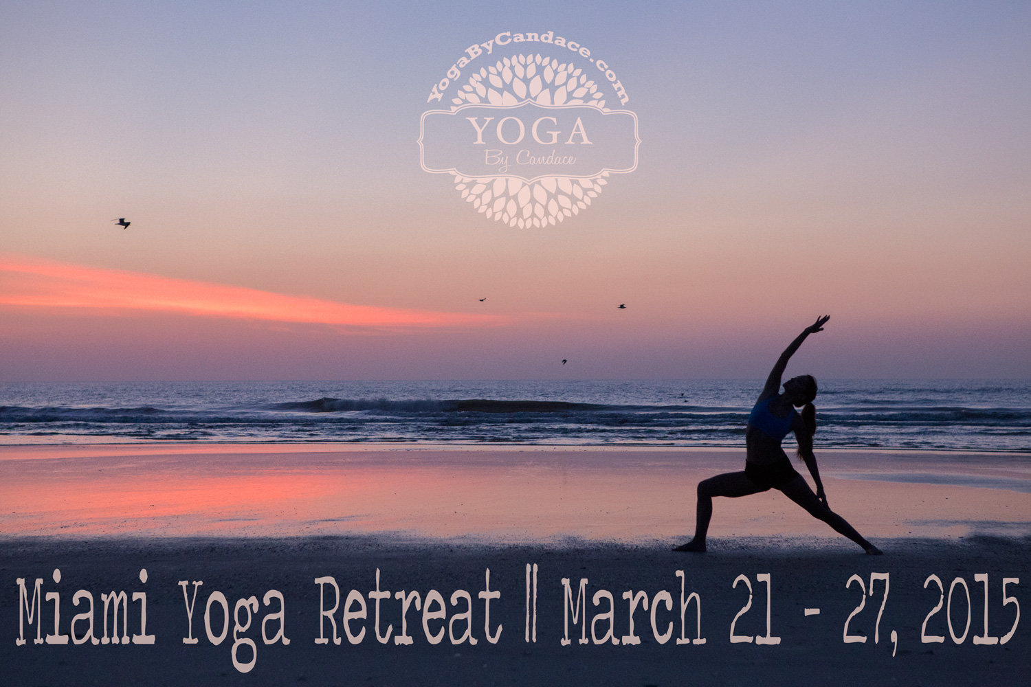 Join us for 7days, 6nights in beautiful Miami for a yoga retreat