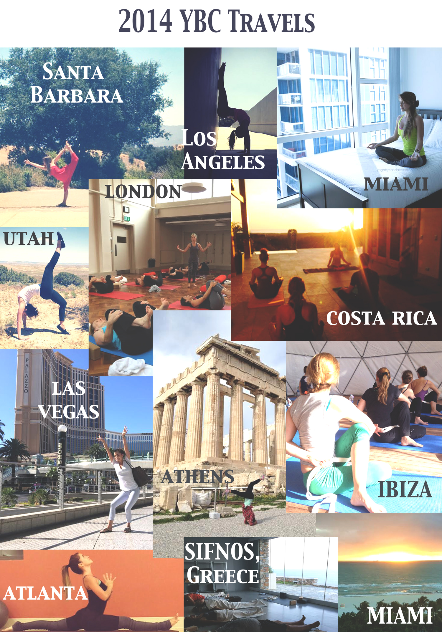 Travels in 2014
