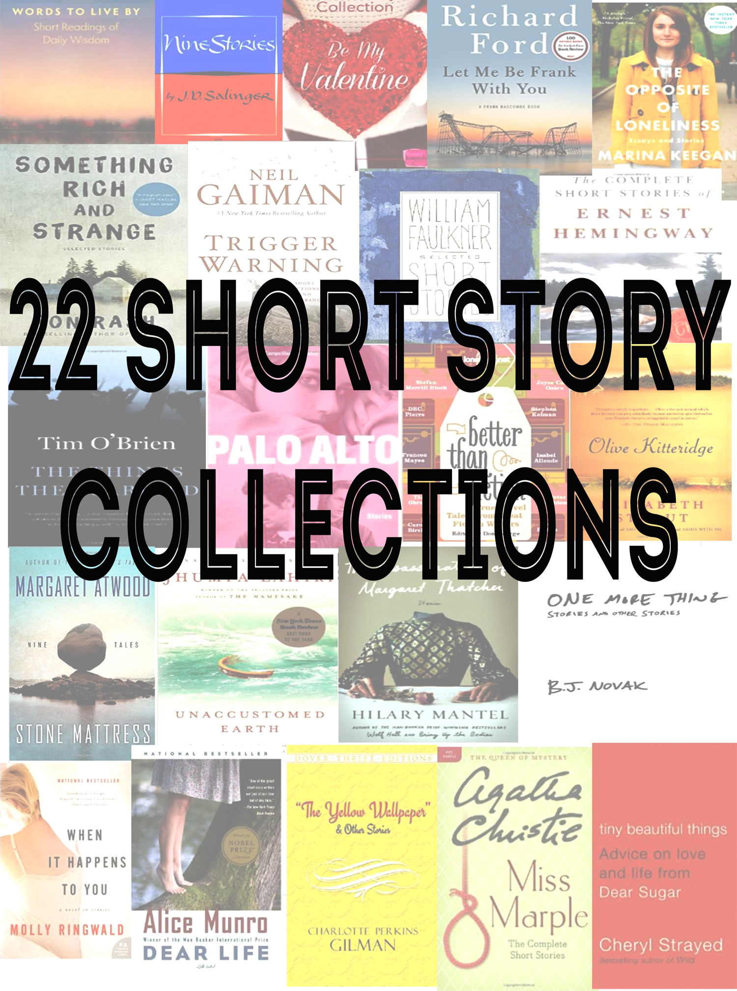 Pin now, read later! 22 Collections of short stories