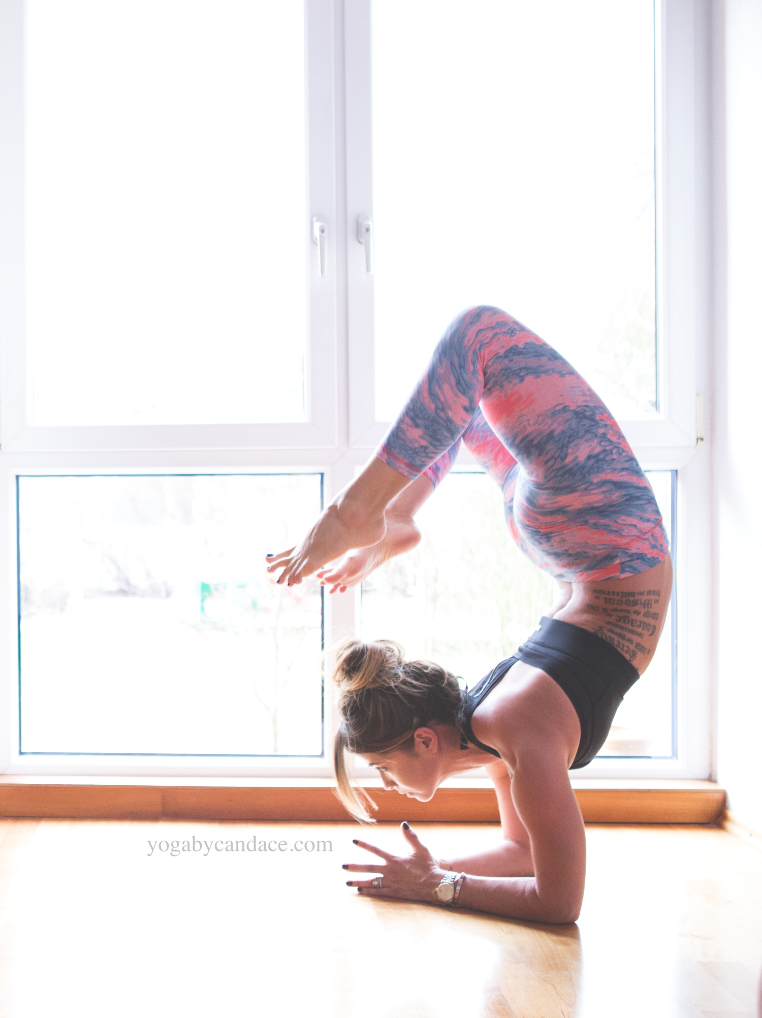 Week 1 Schedule For Backbend Project Yogabycandace