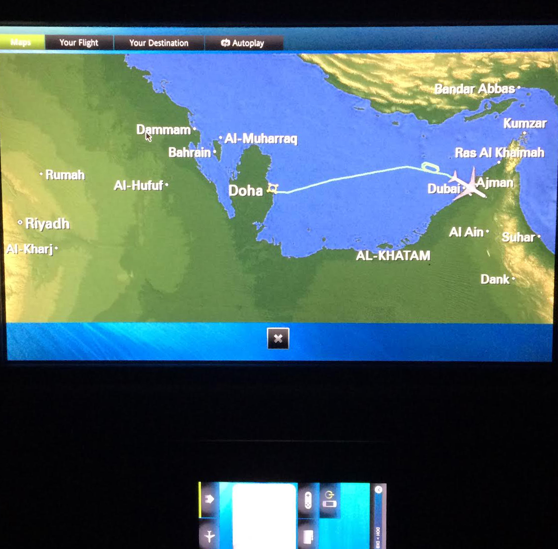 Qatar to United Arab Emirates