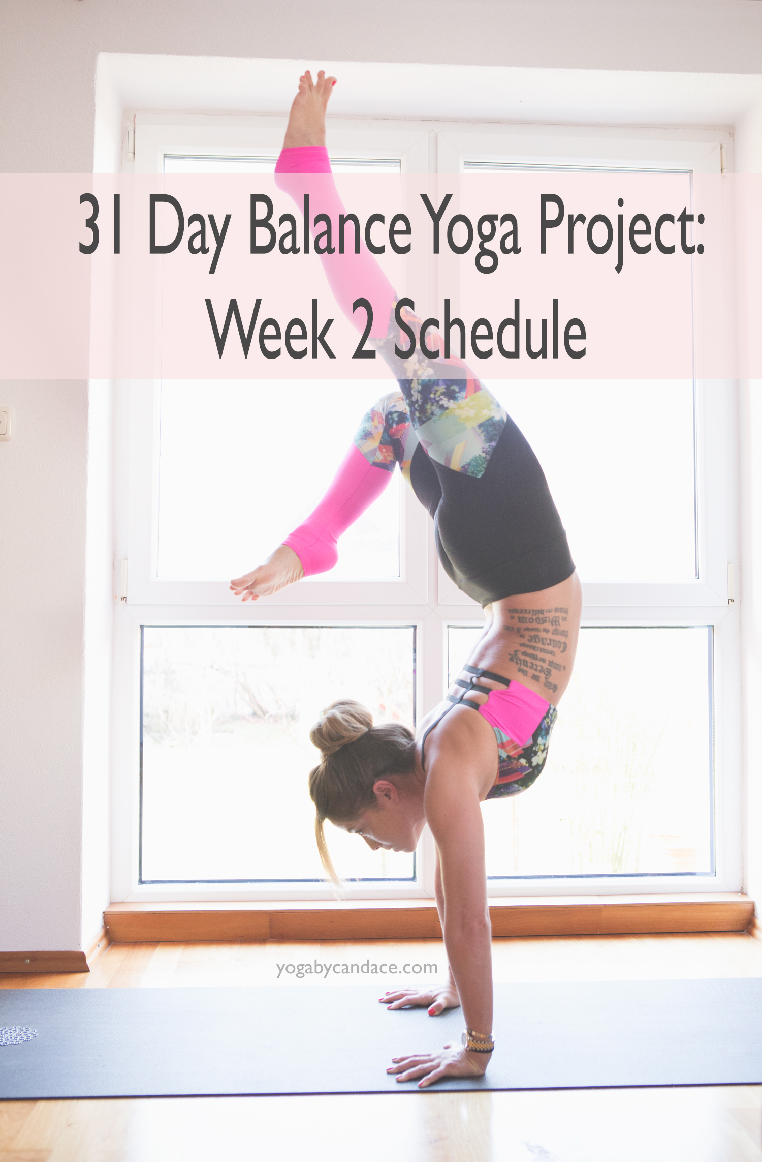 Pin now and join in on the Balance Project!   Wearing:  Onzie bra   and   pants  .