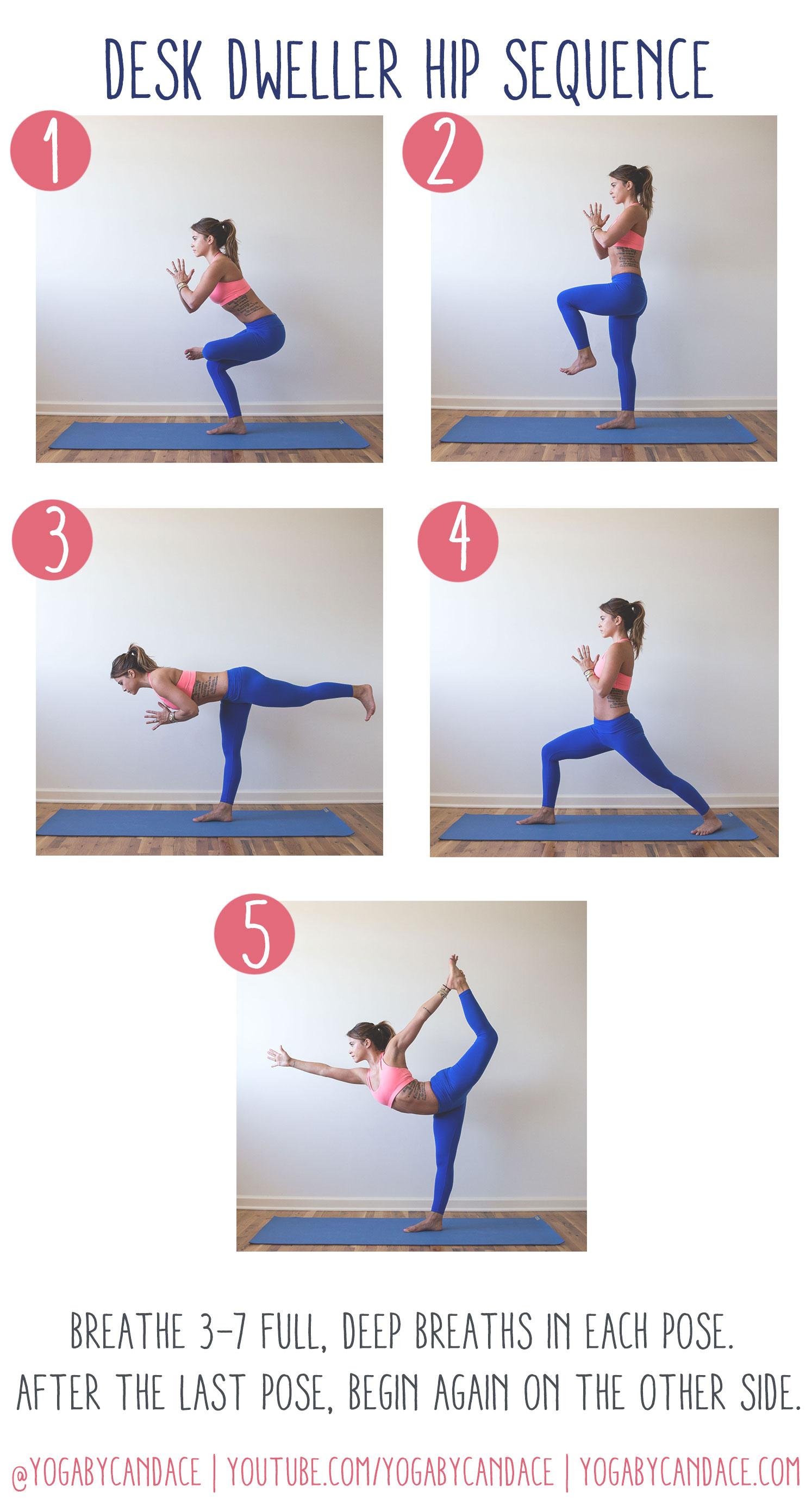 Pin now, practice yoga later!  Wearing: Pink Sun Activewear leggings ( similar ),  Montiel Activewear bra  ( similar )  Using:  Jade harmony yoga mat .