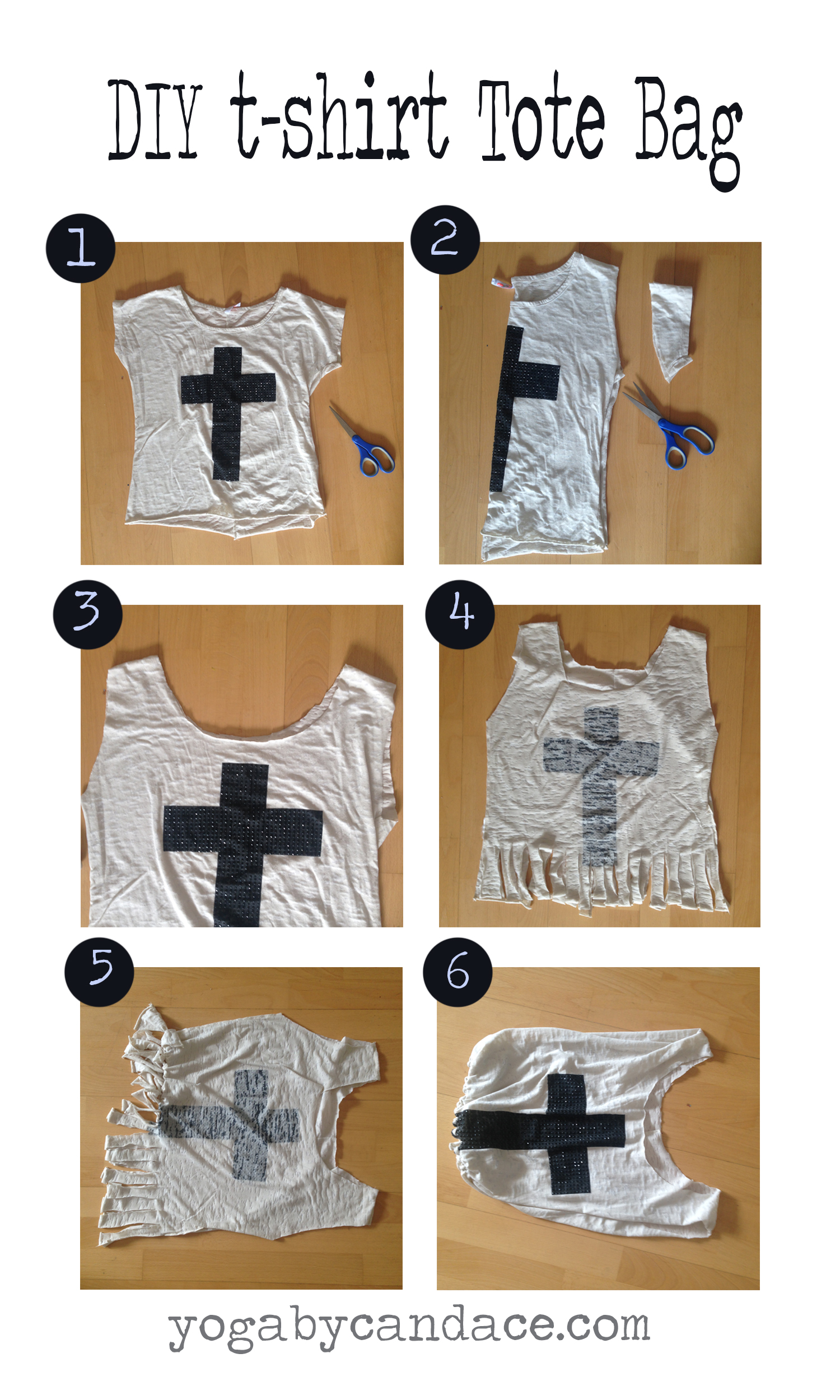Pin now, make later! A diy tote bag out of a t-shirt