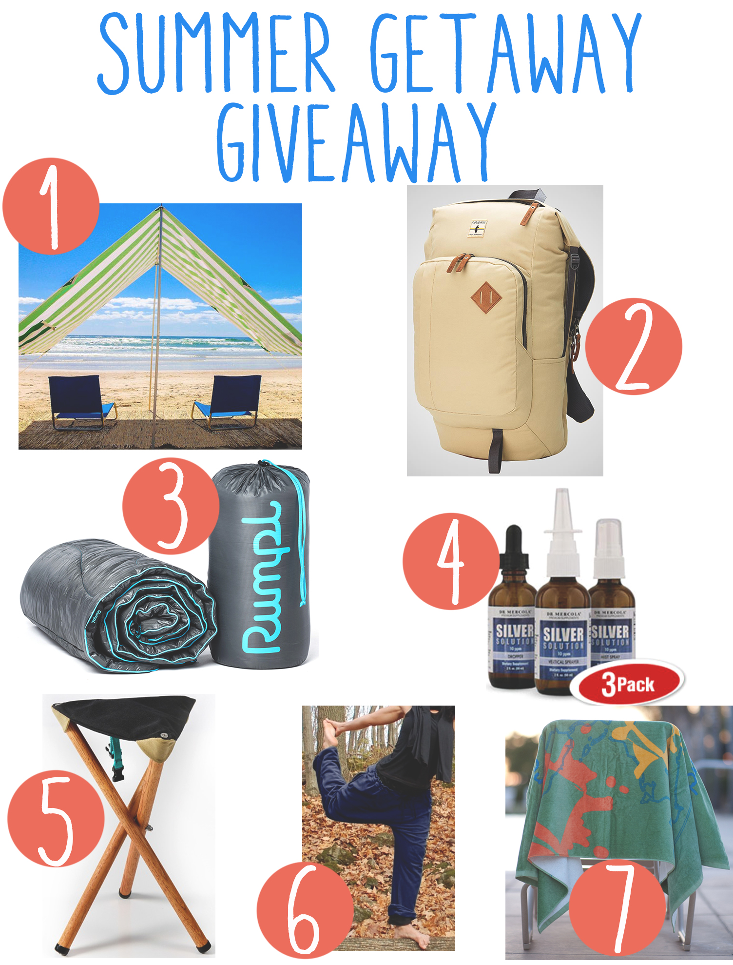 Pin now and enter to win this great summer getaway giveaway!