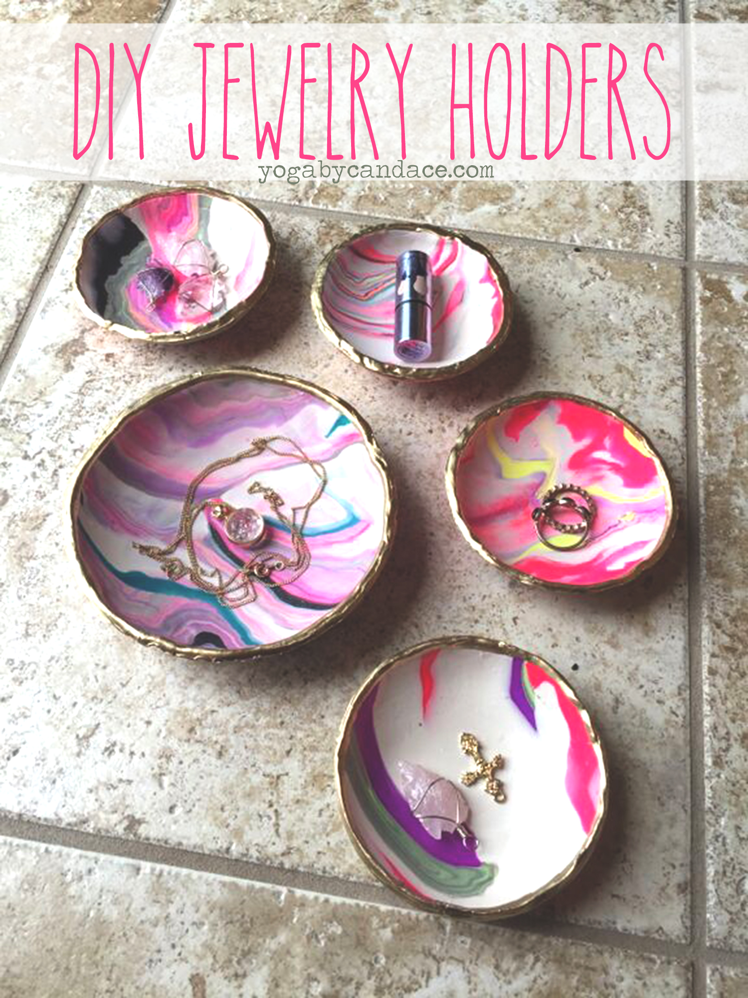 Pin now, make later! DIY Jewelry holders