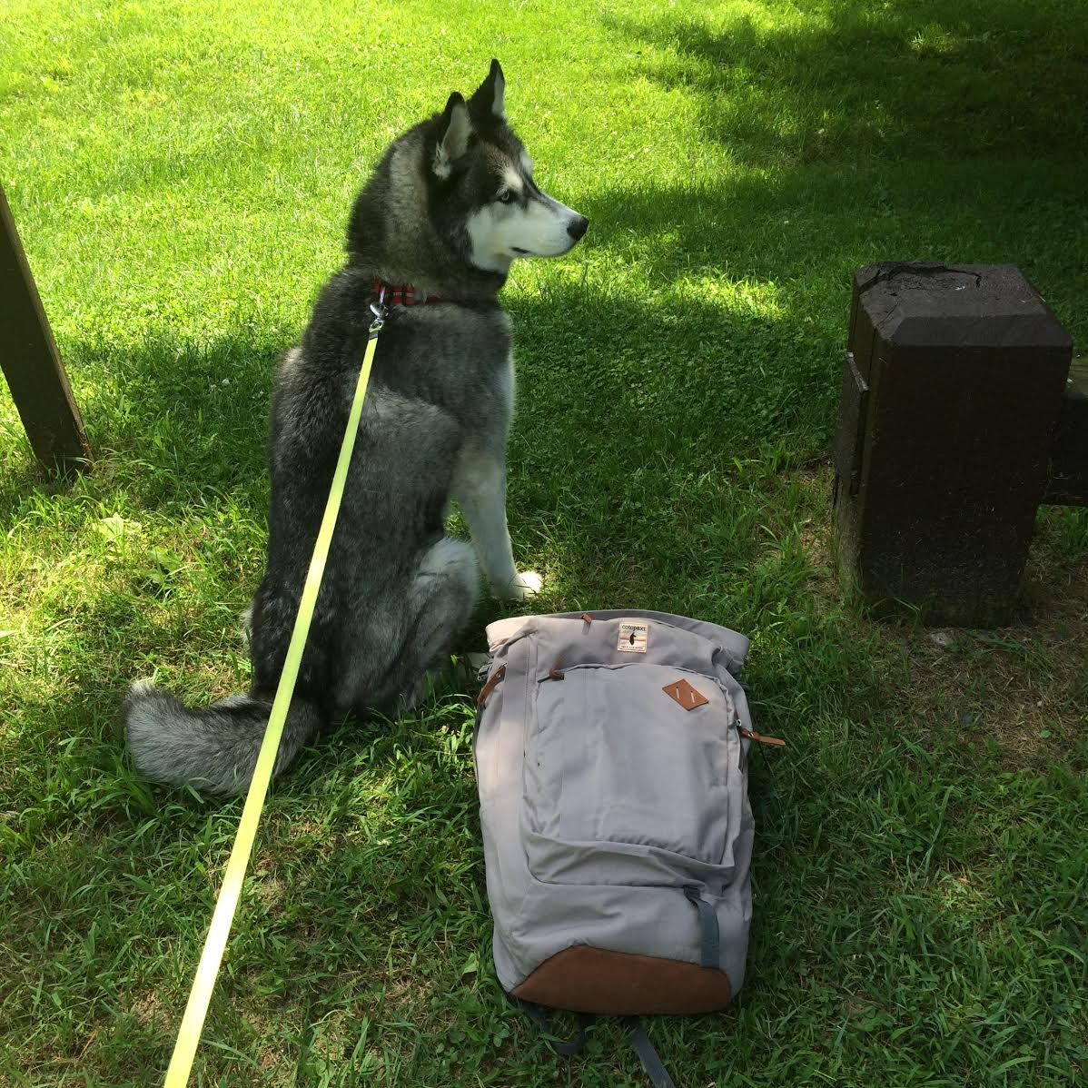 Hiking the Appalachian Trail  Using: cotopaxi backpack c/o