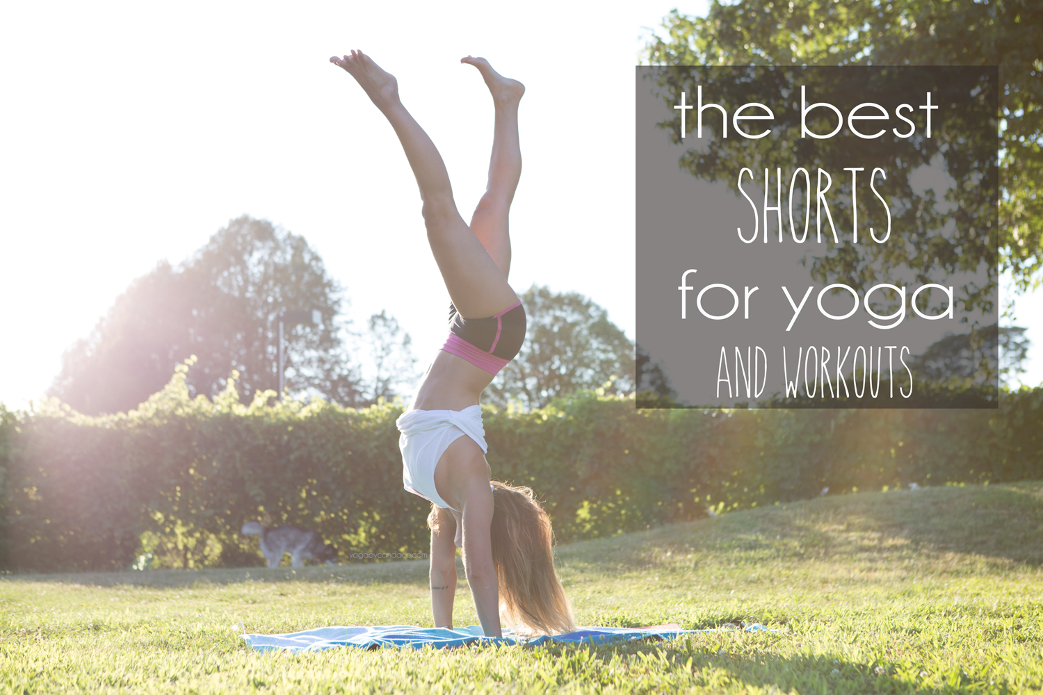 Pin now, read later! Best short shorts for yoga and workouts