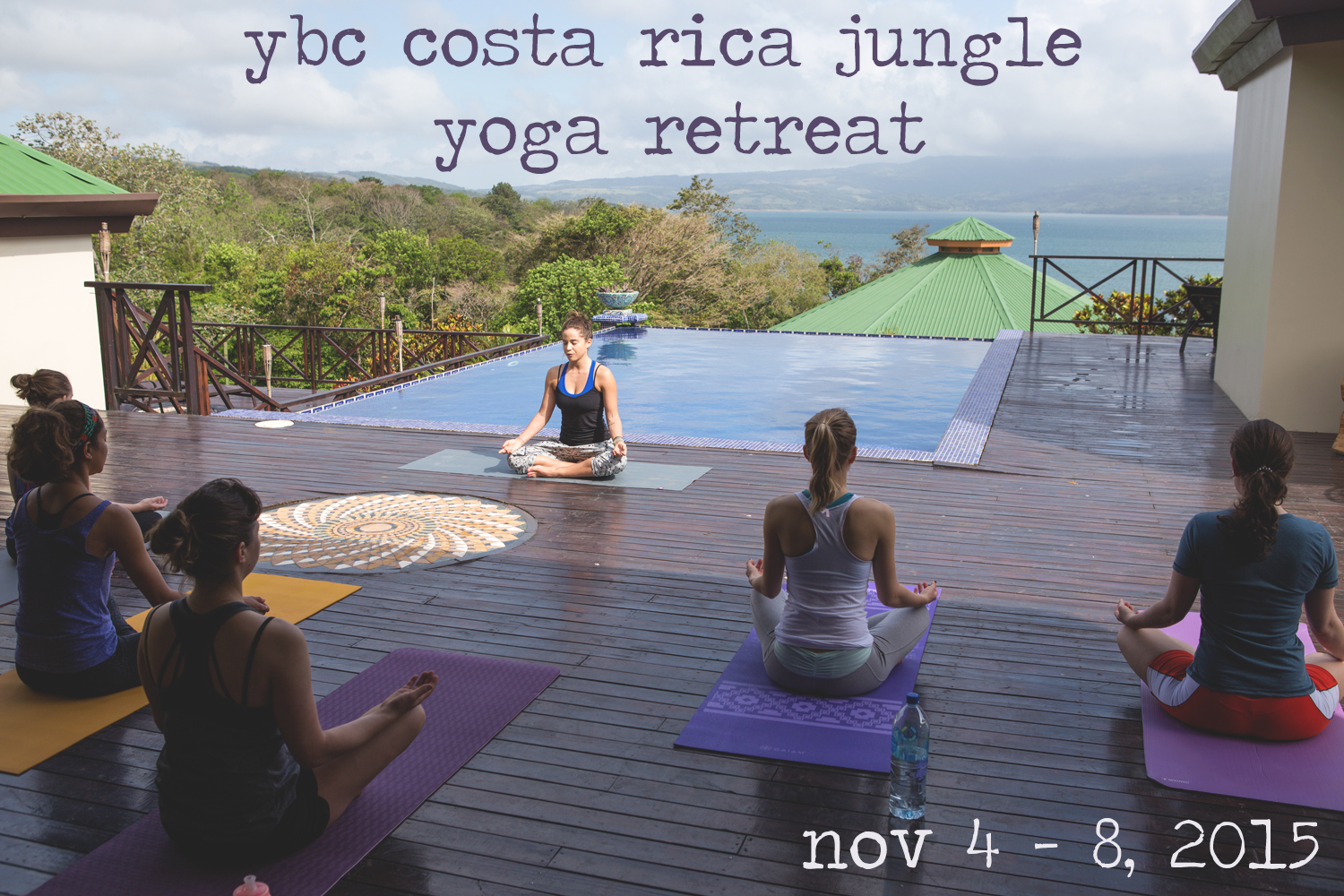Pin now and join us for the Costa Rica jungle yoga retreat!