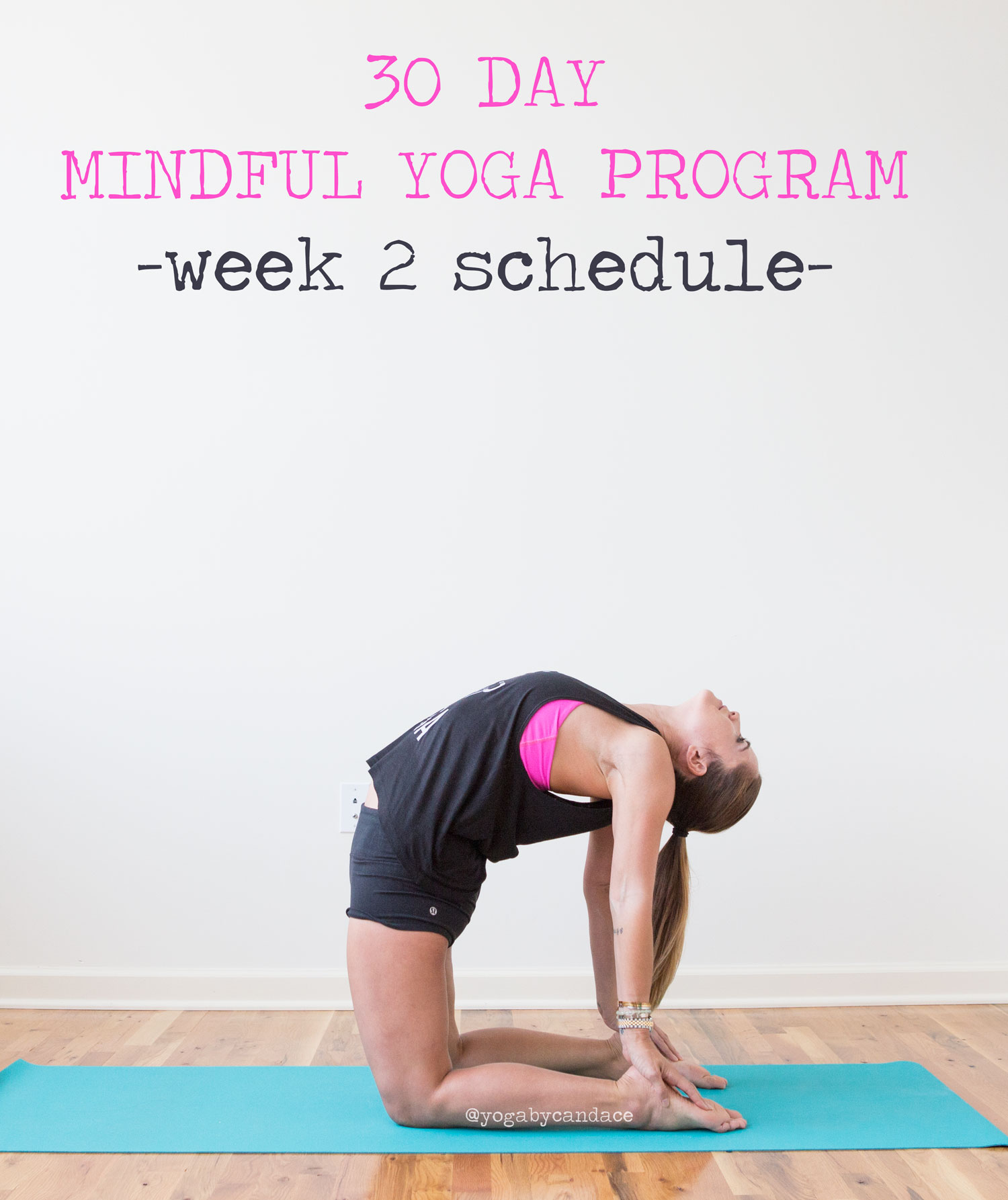 Pin now, practice later! Free 30 day mindful yoga program  Wearing:  lululemon shorts , sociable apparel tank ( similar ),  lululemon bra   Using:  Jade yoga mat .