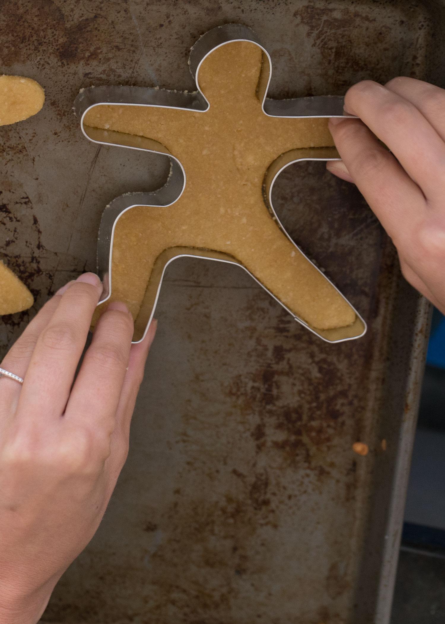Using Yummi Yogi cookie cutters c/o