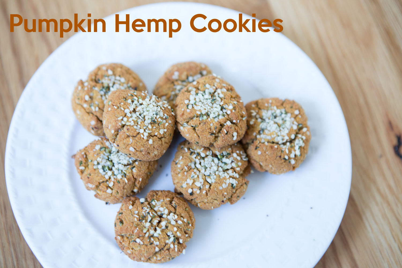 Pumpking hemp cookie recipe