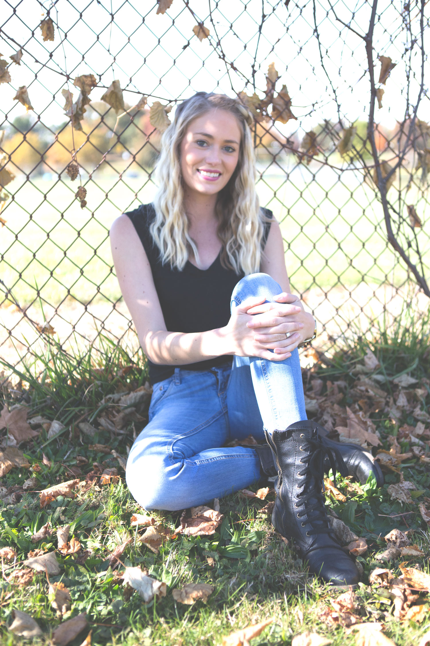Pin now, read later: Mission-Save the Bees pt 2  Wearing: Express tank and jeans,  Steve Madden boots