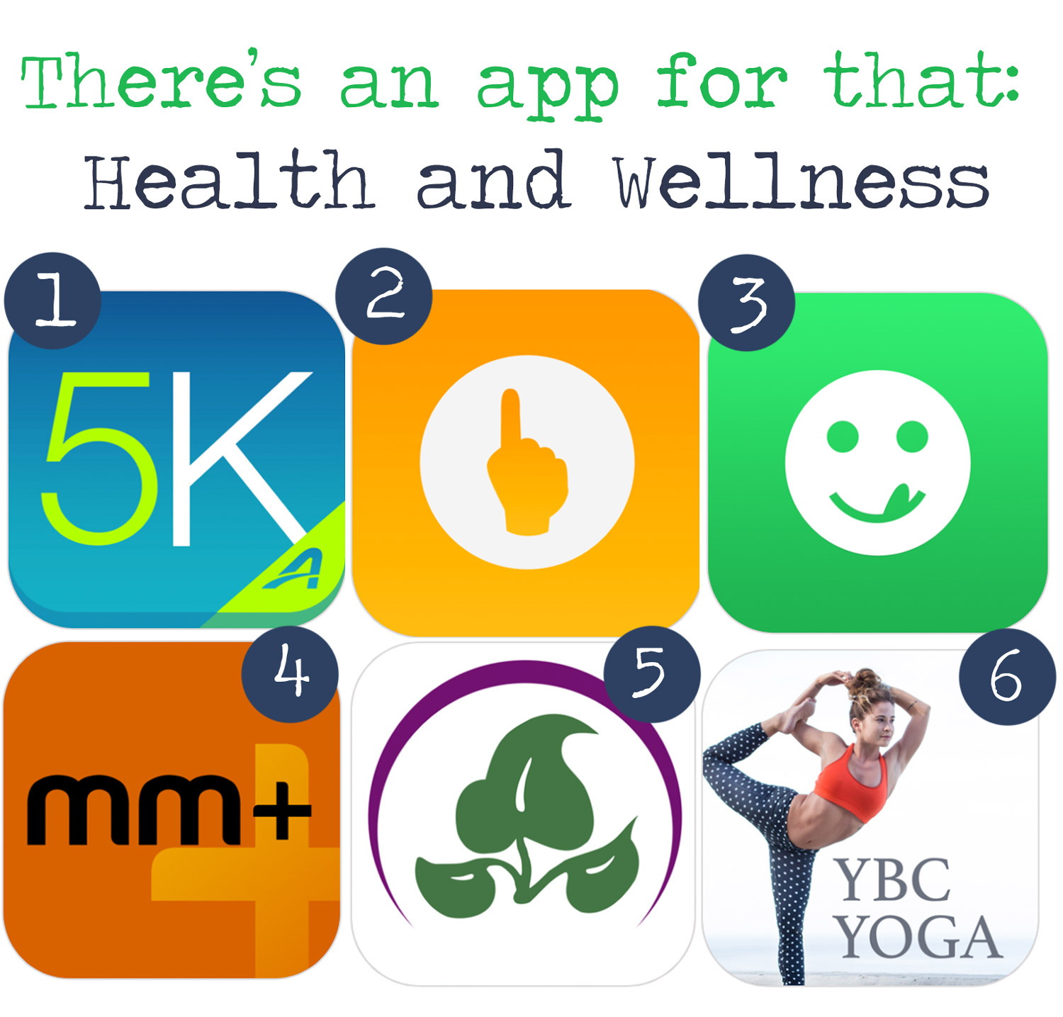 Pin now, use later! Best health and wellness apps