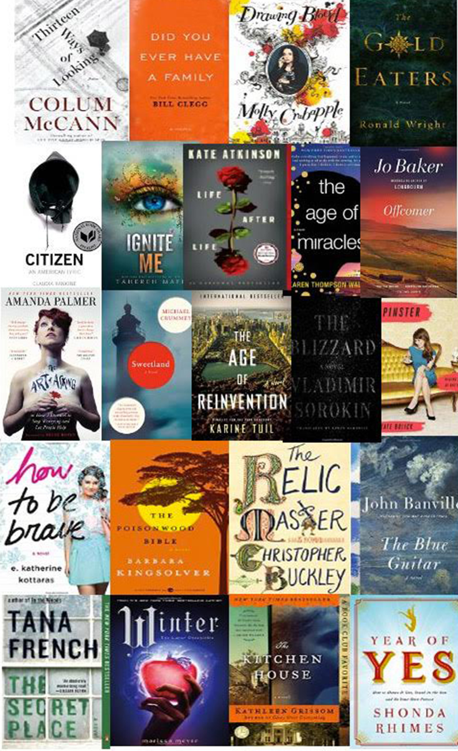 Books to copy up with this winter