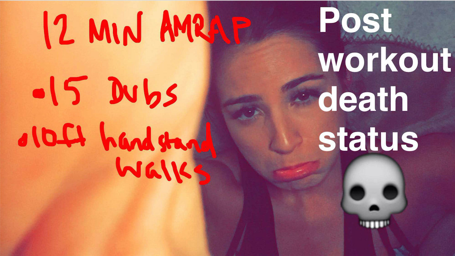 AMRAP workout from snapchat (@yogaby_candace)