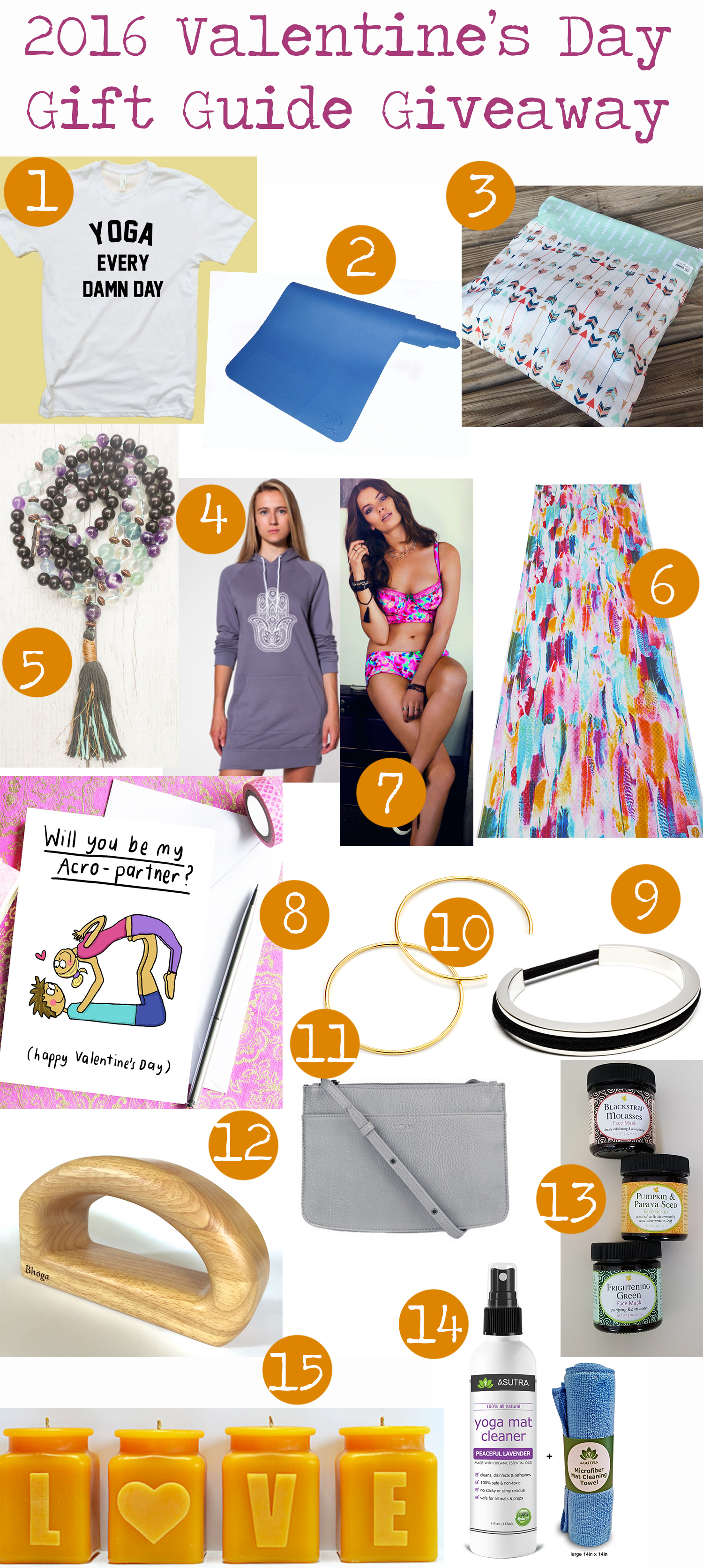 2016 Valentine's Day Gift Guide Giveaway